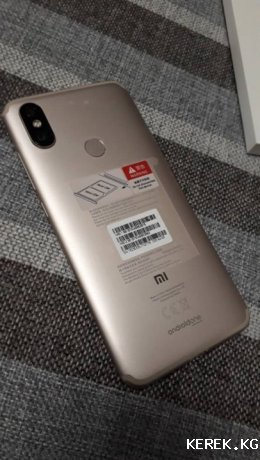 Продаю смартфон Xiaomi MiA2 4.64 Gold