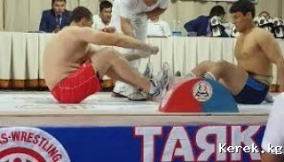 25 февраля в шк №1 состоится открытое первенство г.Каракол по таяк- тартыш (масреслинг)